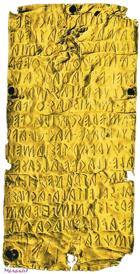 Pyrgi_1, Translation of the Pyrgi Gold Tablets, Etruscan Phrases